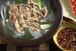 豚肉と大根の中国風煮込み