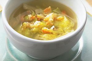 干しえびと白菜の中国風スープ