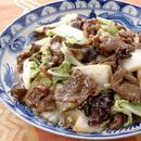 牛肉と白菜の甘辛炒め