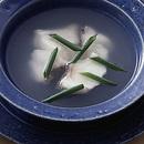 白身魚の中国風スープ
