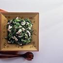 いかと小松菜の炒めもの