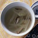 白菜のしんときのこのスープ