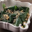 小松菜とカリカリじゃこのサラダ
