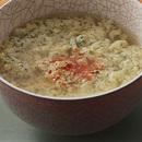 卵と粉チーズのふわふわスープ