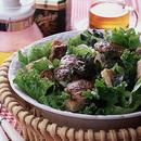 ミニハンバーグのグリーンサラダ