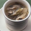 ザーサイとささ身の中国風スープ