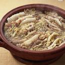 白菜と豚肉の辛子風味鍋