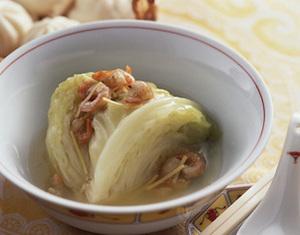 春キャベツの中国風スープ煮