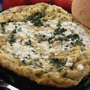 カッテージチーズとパセリのオムレツ