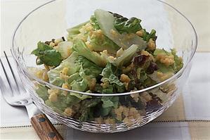 いり卵とレタスのサラダ