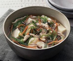 豆腐の五目煮