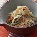 せん切り野菜のごま風味サラダ
