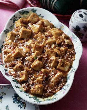 麻婆豆腐(豆腐とひき肉の辛み煮)