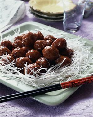 糖醋丸子(肉だんごの甘酢あんかけ)