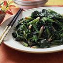 炒青菜(青菜炒め)