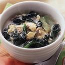 ターツァイのかきたまスープ