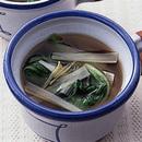 青梗菜のしょうが風味スープ