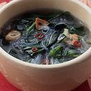 ほうれん草と春雨のスープ