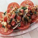トマトと油揚げの中国風サラダ