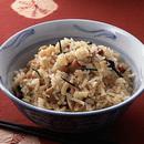 帆立ての中国風炊き込みご飯