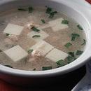 豆腐とたらこのスープ
