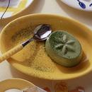 抹茶ミルクプリン