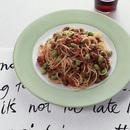 枝豆のミートソーススパゲティ