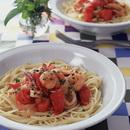 魚介とトマトのスパゲティ