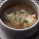 肉だんごの中国風スープ