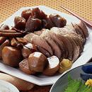 豚肉と根菜の煮もの
