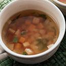 野菜のさいころスープ