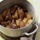 大根とスペアリブの煮もの