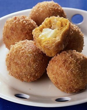 チーズパンプキンコロッケ