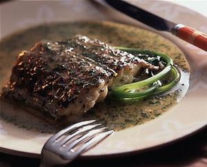 たち魚のパセリソース焼き