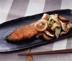 鮭のゆず風味焼き