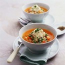 いろいろ野菜のトマトスープ