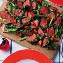 牛肉のたたき風サラダ