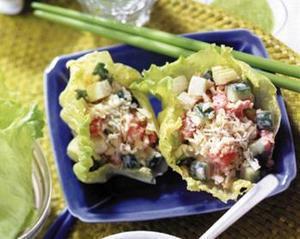 さきいかと夏野菜のサラダ