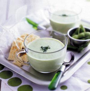 枝豆のつぶつぶスープ