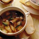 エリンギとねぎのスープ