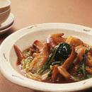 白菜と手羽先の甘辛煮