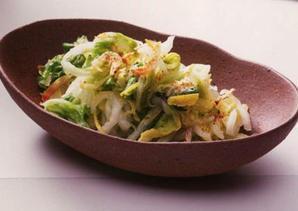 白菜のゆず風味漬け