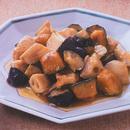 野菜とささ身のオイスターソース炒め