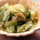 レタスと帆立てのサラダ