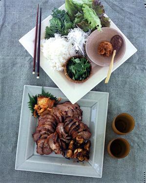 韓国風焼き豚