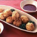 豆腐と鮭のふわふわ揚げ