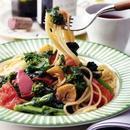菜の花+ガーリックのスパゲティ