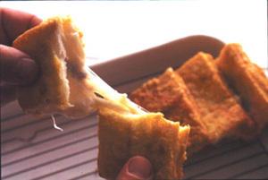 ナポリ風モッツァレラ入り揚げパン