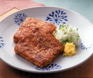 豆腐のおかかステーキ