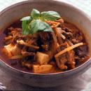 豚肉と豆腐のチゲ風スープ